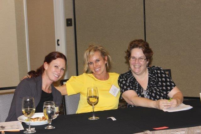 April Scott, Jacqueline Klein, and Michele Mitchell
