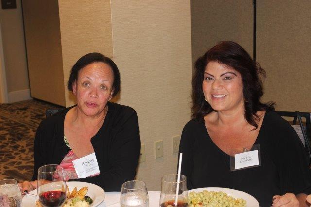 Beverly De Witt and Shay Trias