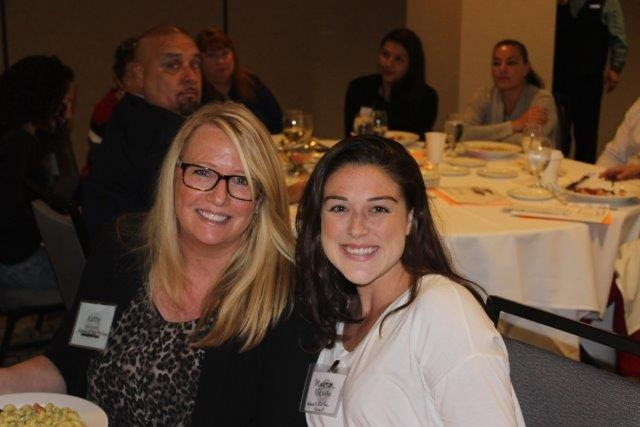 Kathy Gershwind and Madison Nicolao