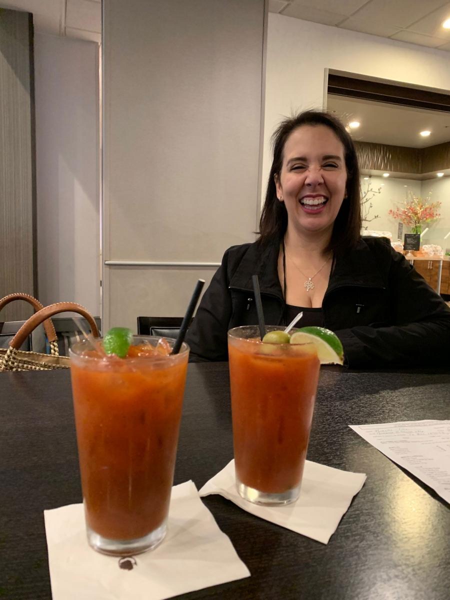 Yolanda-Gollaz-enjoying-an-adult-beverage