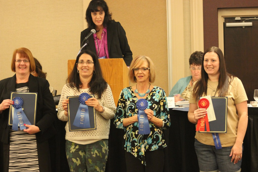 Judy-Johns,-CCLS-receives-First-Place-Ribbon-for-History-Book