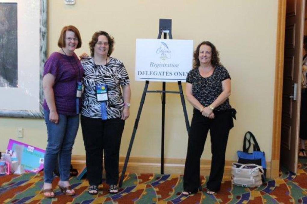 SDLSA-Delegates-Judy-Johns,-Michele-Mitchell-&-Cyndi-Halvax,-CCLS