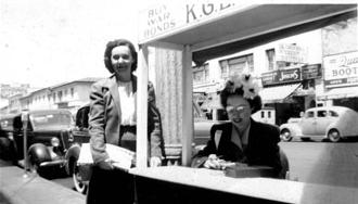 1950's - Legal Secretaries Selling War Bonds